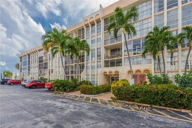 601 Three Islands Blvd #407, Hallandale Beach, FL 33009 (MLS #A10933371) :: Green Realty Properties