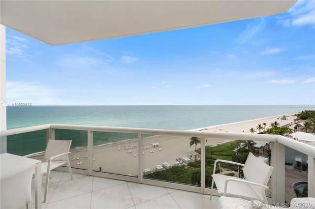 18101 E Collins Ave #907, Sunny Isles Beach, FL 33160 (MLS #A10933912) :: Re/Max PowerPro Realty