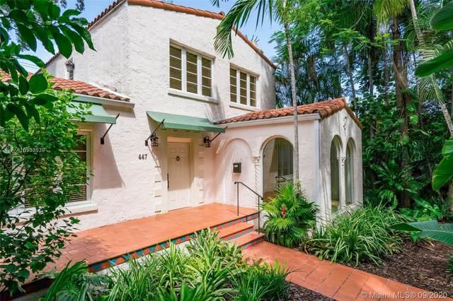 447 Alcazar Avenue, Coral Gables, FL 33134 (MLS #A10933939) :: Berkshire Hathaway HomeServices EWM Realty