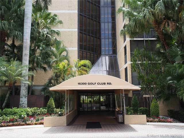 16300 Golf Club Rd #509, Weston, FL 33326 (MLS #A10933987) :: Dalton Wade Real Estate Group