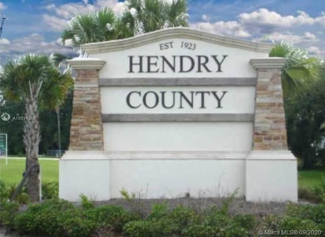 475 Hunting Club Ave, Clewiston, FL 33440 (MLS #A10934266) :: Douglas Elliman