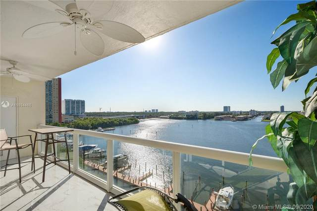 17050 N Bay Rd #908, Sunny Isles Beach, FL 33160 (MLS #A10934466) :: Re/Max PowerPro Realty