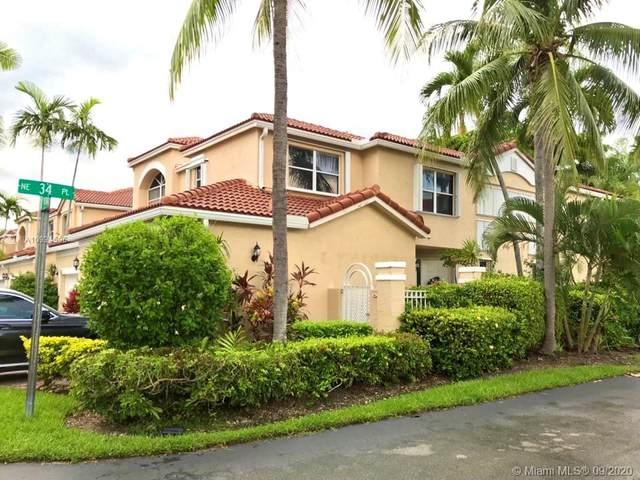 3453 NE 210th Ter, Aventura, FL 33180 (MLS #A10934506) :: Green Realty Properties