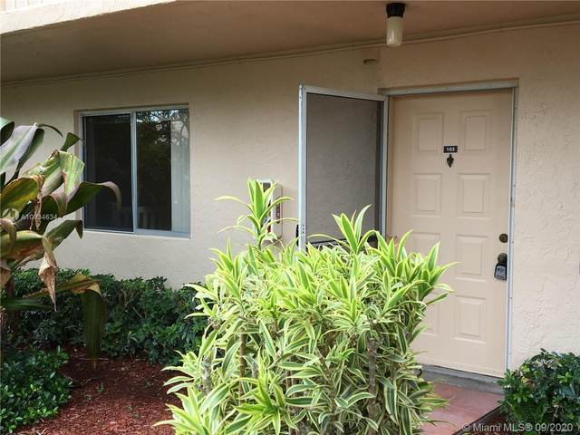 6865 Huntington Ln #103, Delray Beach, FL 33446 (MLS #A10934634) :: The Pearl Realty Group
