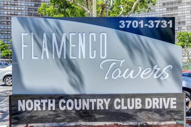 3701 N Country Club Dr #2208, Aventura, FL 33180 (MLS #A10934991) :: Berkshire Hathaway HomeServices EWM Realty