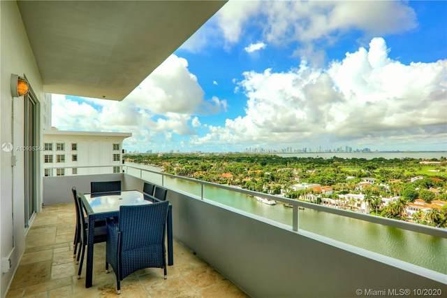 5700 Collins Ave 16E, Miami Beach, FL 33140 (MLS #A10935344) :: Patty Accorto Team