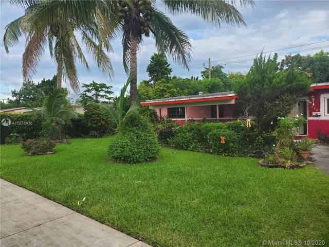 820 NW 179th Ter, Miami Gardens, FL 33169 (MLS #A10935935) :: Berkshire Hathaway HomeServices EWM Realty