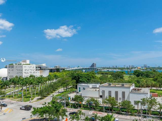 900 Biscayne Blvd #709, Miami, FL 33132 (MLS #A10936120) :: Berkshire Hathaway HomeServices EWM Realty