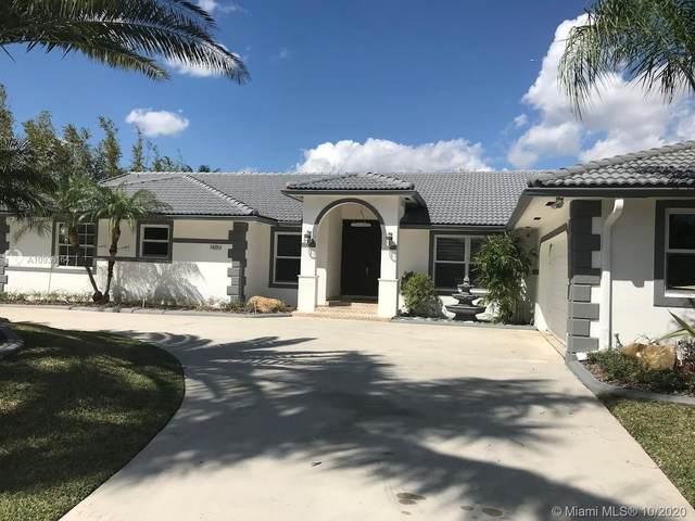 14861 SW 160th St, Miami, FL 33187 (#A10936164) :: Posh Properties