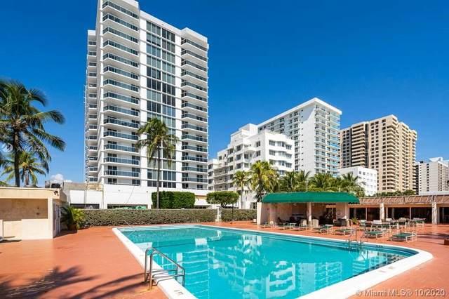 2401 Collins Ave #606, Miami Beach, FL 33140 (MLS #A10936298) :: Carole Smith Real Estate Team