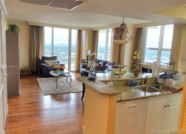 19501 W Country Club Dr #2509, Aventura, FL 33180 (MLS #A10936721) :: Albert Garcia Team
