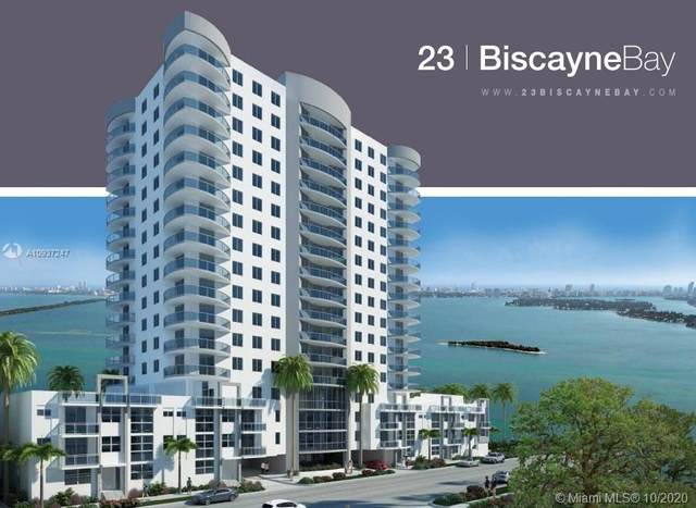 601 NE 23rd St #701, Miami, FL 33137 (MLS #A10937247) :: Prestige Realty Group