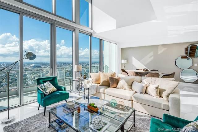 92 SW 3rd St #5207, Miami, FL 33130 (MLS #A10937388) :: Berkshire Hathaway HomeServices EWM Realty