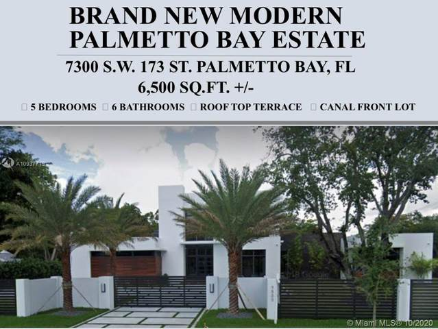 7300 SW 173rd St, Palmetto Bay, FL 33157 (MLS #A10937713) :: Prestige Realty Group
