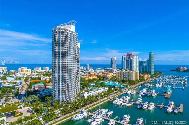 400 Alton Rd #3401, Miami Beach, FL 33139 (MLS #A10937780) :: Berkshire Hathaway HomeServices EWM Realty