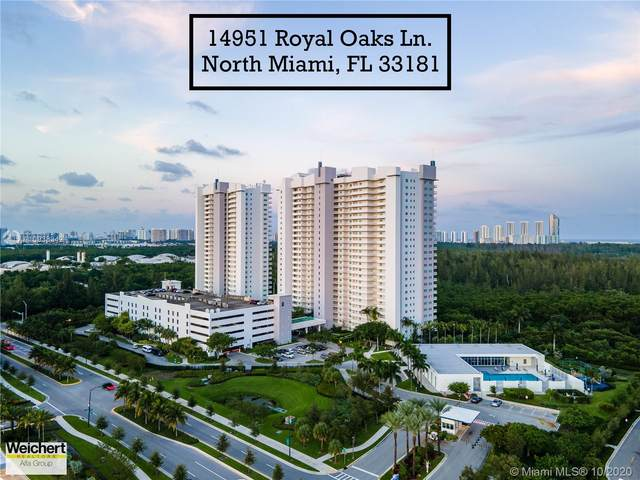 14951 Royal Oaks Ln #2408, North Miami, FL 33181 (MLS #A10938342) :: Ray De Leon with One Sotheby's International Realty