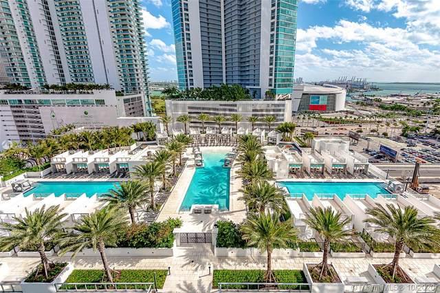 851 NE 1st Ave #1407, Miami, FL 33131 (MLS #A10938594) :: Dalton Wade Real Estate Group