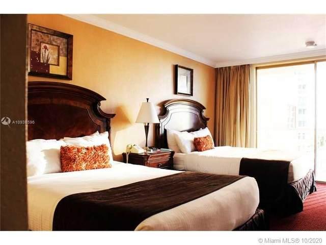 19201 Collins Av #425, Sunny Isles Beach, FL 33160 (MLS #A10938596) :: Carole Smith Real Estate Team