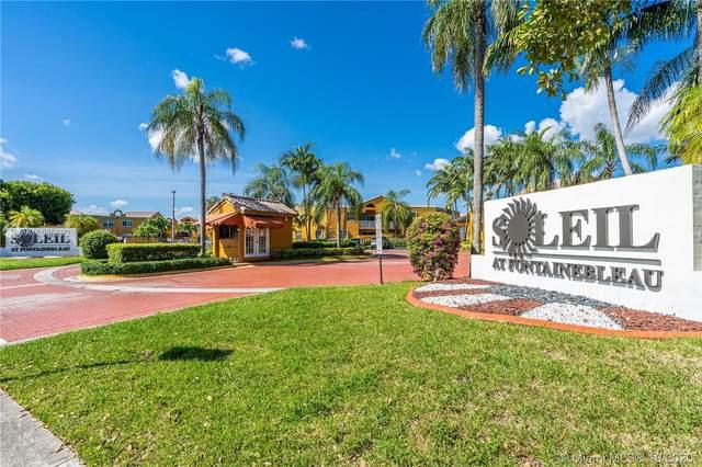 9715 Fontainebleau Blvd E209, Miami, FL 33172 (MLS #A10939692) :: Carole Smith Real Estate Team