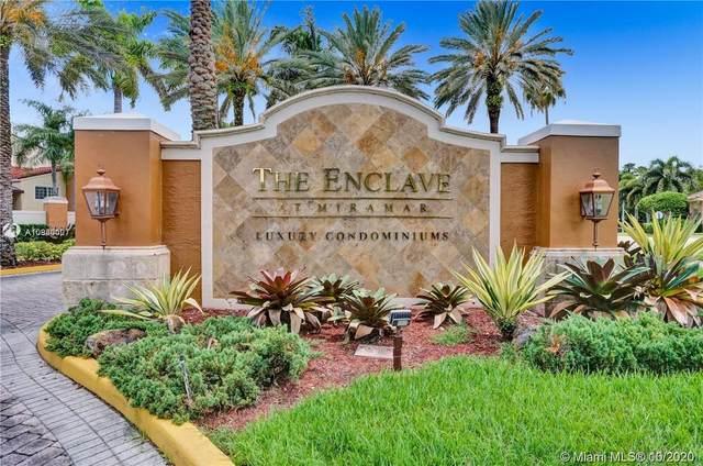 2103 Renaissance Blvd #203, Miramar, FL 33025 (MLS #A10940007) :: Berkshire Hathaway HomeServices EWM Realty