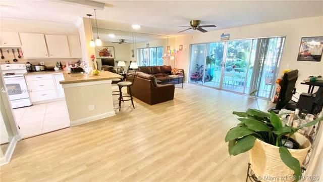 1000 NE 14th Ave #102, Hallandale Beach, FL 33009 (MLS #A10940134) :: Berkshire Hathaway HomeServices EWM Realty