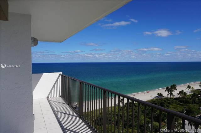 1201 S Ocean 1702S, Hollywood, FL 33019 (MLS #A10941145) :: Re/Max PowerPro Realty