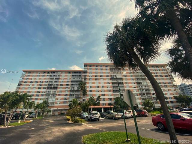 3800 Hillcrest Dr #1103, Hollywood, FL 33021 (MLS #A10941603) :: Green Realty Properties