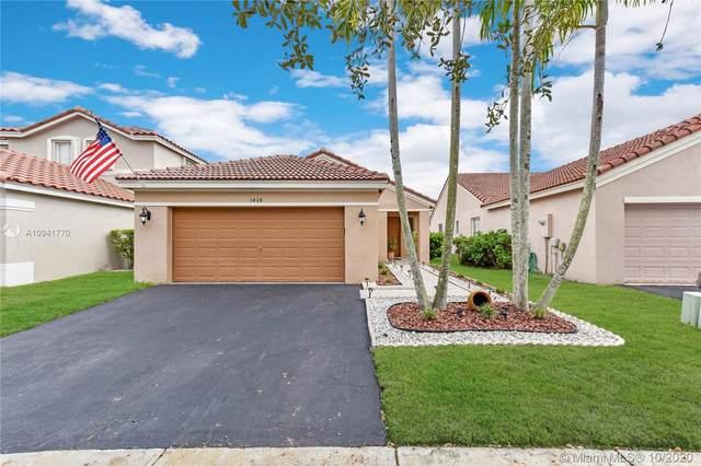 1428 Majesty Ter, Weston, FL 33327 (MLS #A10941770) :: Berkshire Hathaway HomeServices EWM Realty