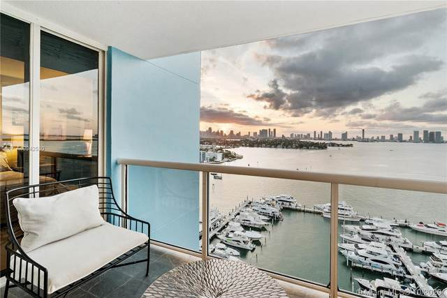 1800 Sunset Harbour Dr #1908, Miami Beach, FL 33139 (MLS #A10942530) :: Ray De Leon with One Sotheby's International Realty