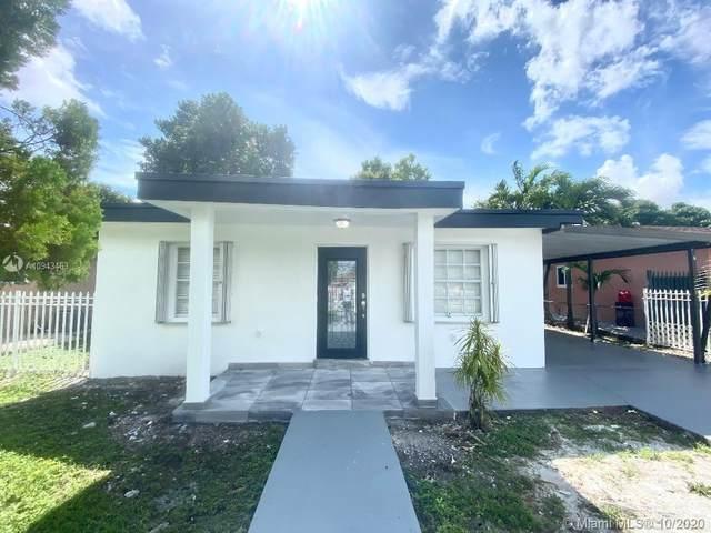 3520 NW 100th St, Miami, FL 33147 (MLS #A10943463) :: Berkshire Hathaway HomeServices EWM Realty