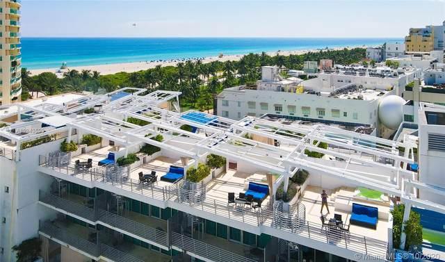 1437 Collins Ave Ph16, Miami Beach, FL 33139 (MLS #A10943593) :: Patty Accorto Team