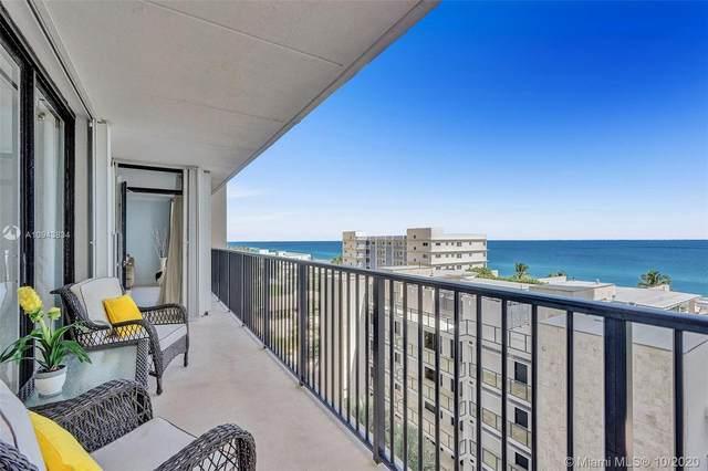 2101 S Ocean Dr #801, Hollywood, FL 33019 (MLS #A10943834) :: Berkshire Hathaway HomeServices EWM Realty