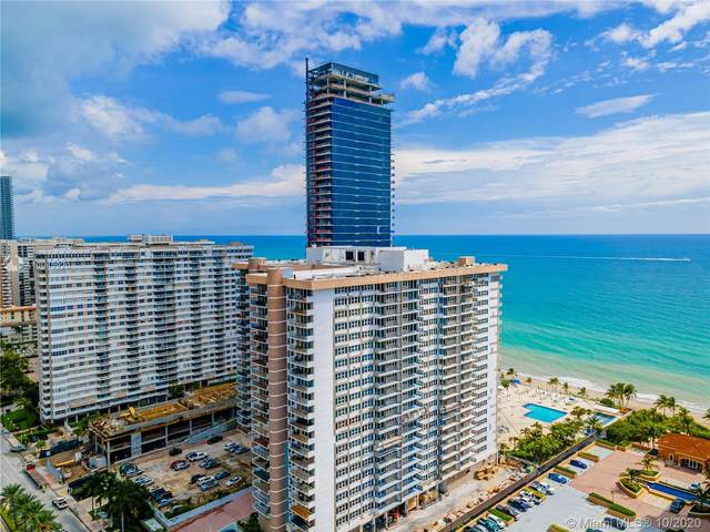 2030 S Ocean Dr #1109, Hallandale Beach, FL 33009 (MLS #A10943920) :: Prestige Realty Group
