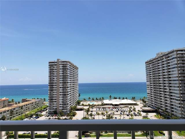 1965 S Ocean Dr 14G, Hallandale Beach, FL 33009 (MLS #A10944099) :: Prestige Realty Group