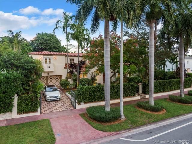 3001 Pine Tree Dr, Miami Beach, FL 33140 (MLS #A10944718) :: Re/Max PowerPro Realty