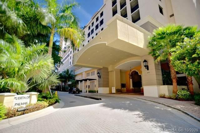 888 S Douglas Rd #909, Coral Gables, FL 33134 (MLS #A10945009) :: Prestige Realty Group