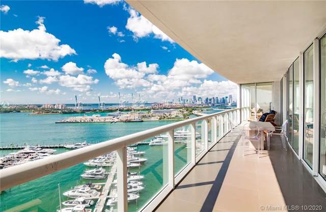 450 Alton Rd #1603, Miami Beach, FL 33139 (MLS #A10945076) :: The Pearl Realty Group