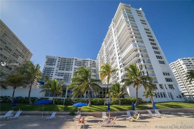 4300 N Ocean Blvd 5K, Fort Lauderdale, FL 33308 (#A10946084) :: Dalton Wade