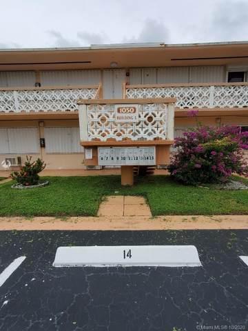1050 SW 11th St 15L, Hallandale Beach, FL 33009 (MLS #A10946259) :: Castelli Real Estate Services