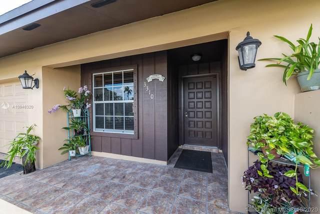 3310 SW 96th Ter #3310, Miramar, FL 33025 (MLS #A10946320) :: Green Realty Properties