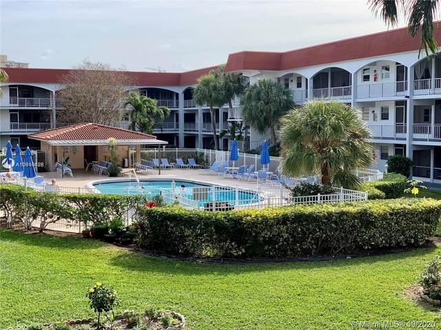 581 Blue Heron Dr 206-B, Hallandale Beach, FL 33009 (MLS #A10946428) :: Carole Smith Real Estate Team