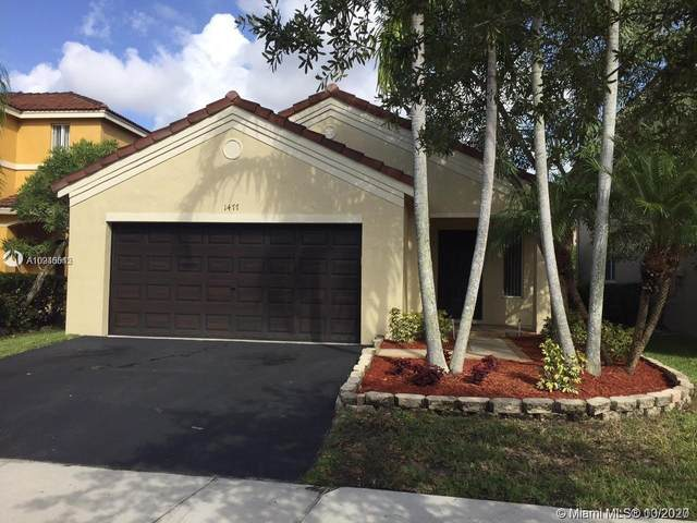 1477 Majesty Ter, Weston, FL 33327 (MLS #A10946545) :: Berkshire Hathaway HomeServices EWM Realty
