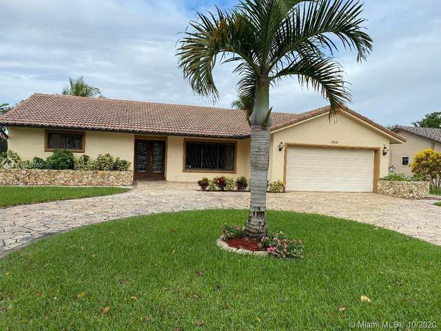 360 NW 98th Ter, Coral Springs, FL 33071 (MLS #A10947085) :: The Teri Arbogast Team at Keller Williams Partners SW