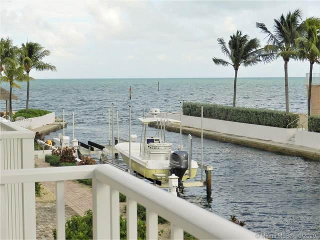 1501 Ocean Bay Dr B7, Key Largo, FL 33037 (MLS #A10947418) :: Dalton Wade Real Estate Group