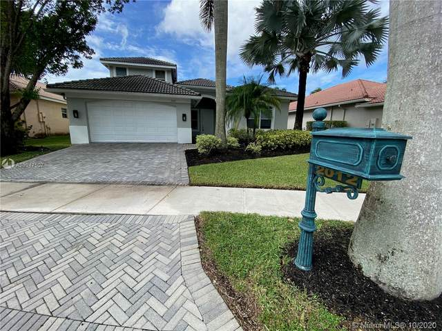 2012 Harbor View Cir, Weston, FL 33327 (MLS #A10947507) :: The Jack Coden Group