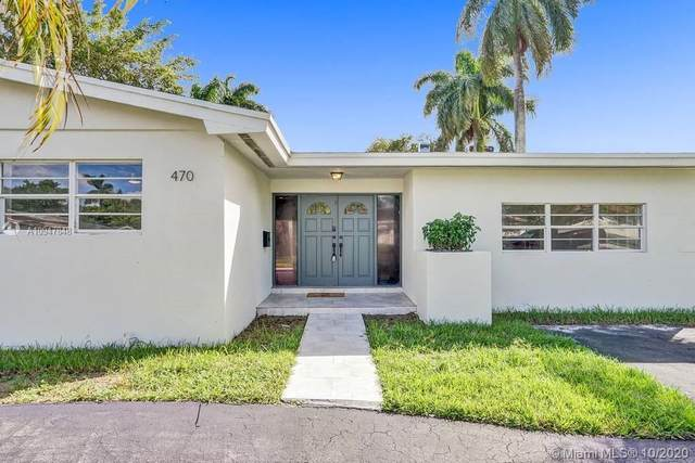 470 NE 145th St, Miami, FL 33161 (MLS #A10947848) :: Green Realty Properties