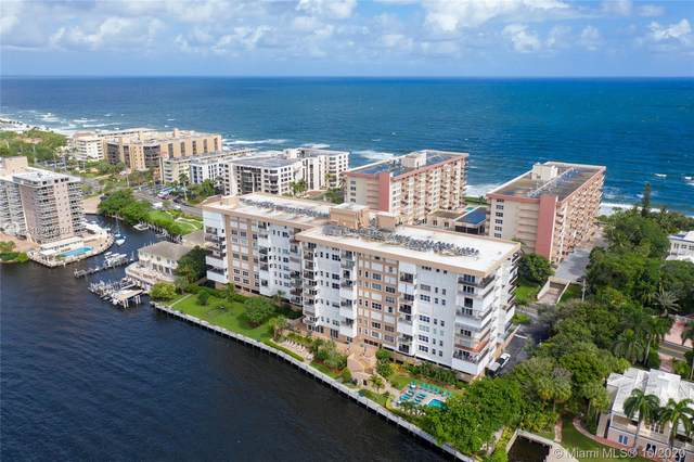 1150 Hillsboro Mile #301, Hillsboro Beach, FL 33062 (MLS #A10947860) :: The Teri Arbogast Team at Keller Williams Partners SW