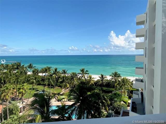 4301 Collins Ave #807, Miami Beach, FL 33140 (MLS #A10947878) :: Dalton Wade Real Estate Group