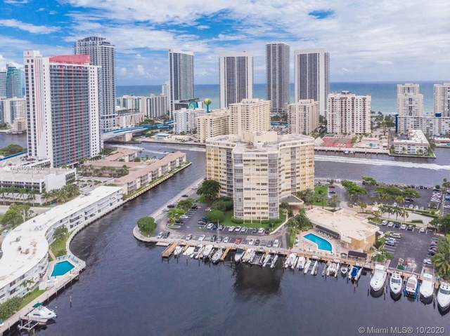 100 Golden Isles Dr #210, Hallandale Beach, FL 33009 (MLS #A10947882) :: The Teri Arbogast Team at Keller Williams Partners SW