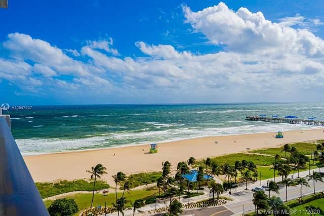 405 N Ocean Blvd #1404, Pompano Beach, FL 33062 (MLS #A10947937) :: Ray De Leon with One Sotheby's International Realty